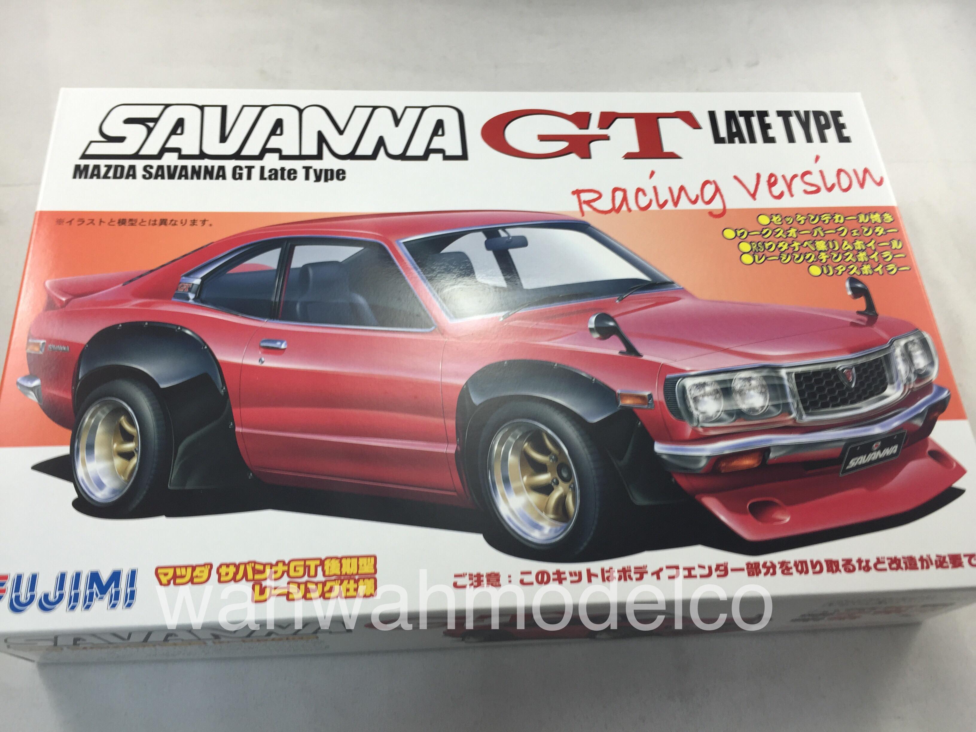 Fujimi 1/24 ID-109 Mazda Savanna GT Japan Toys & Hobbies