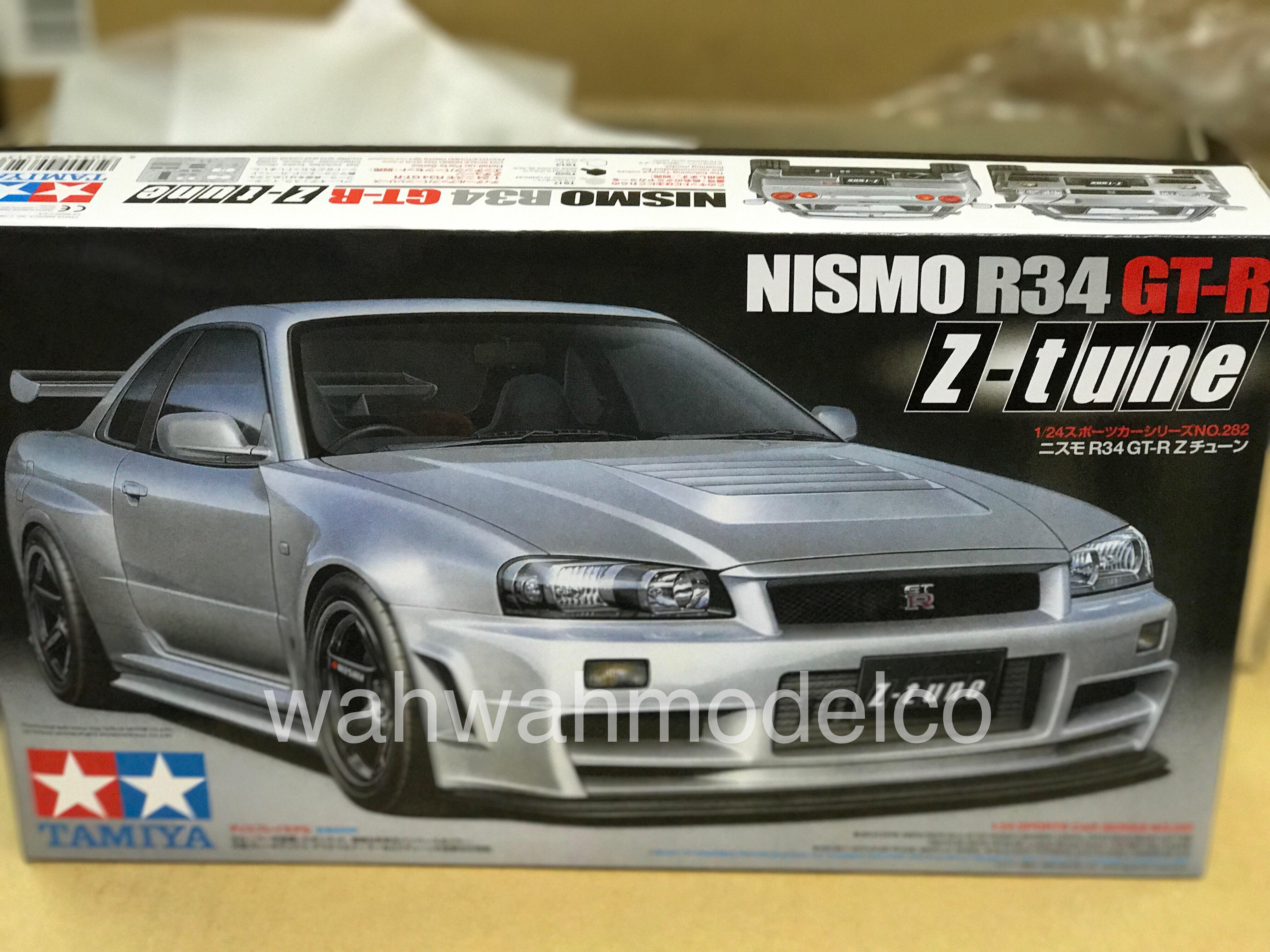 Tamiya 24282 1/24 NISMO R34 GT-R Z-tune