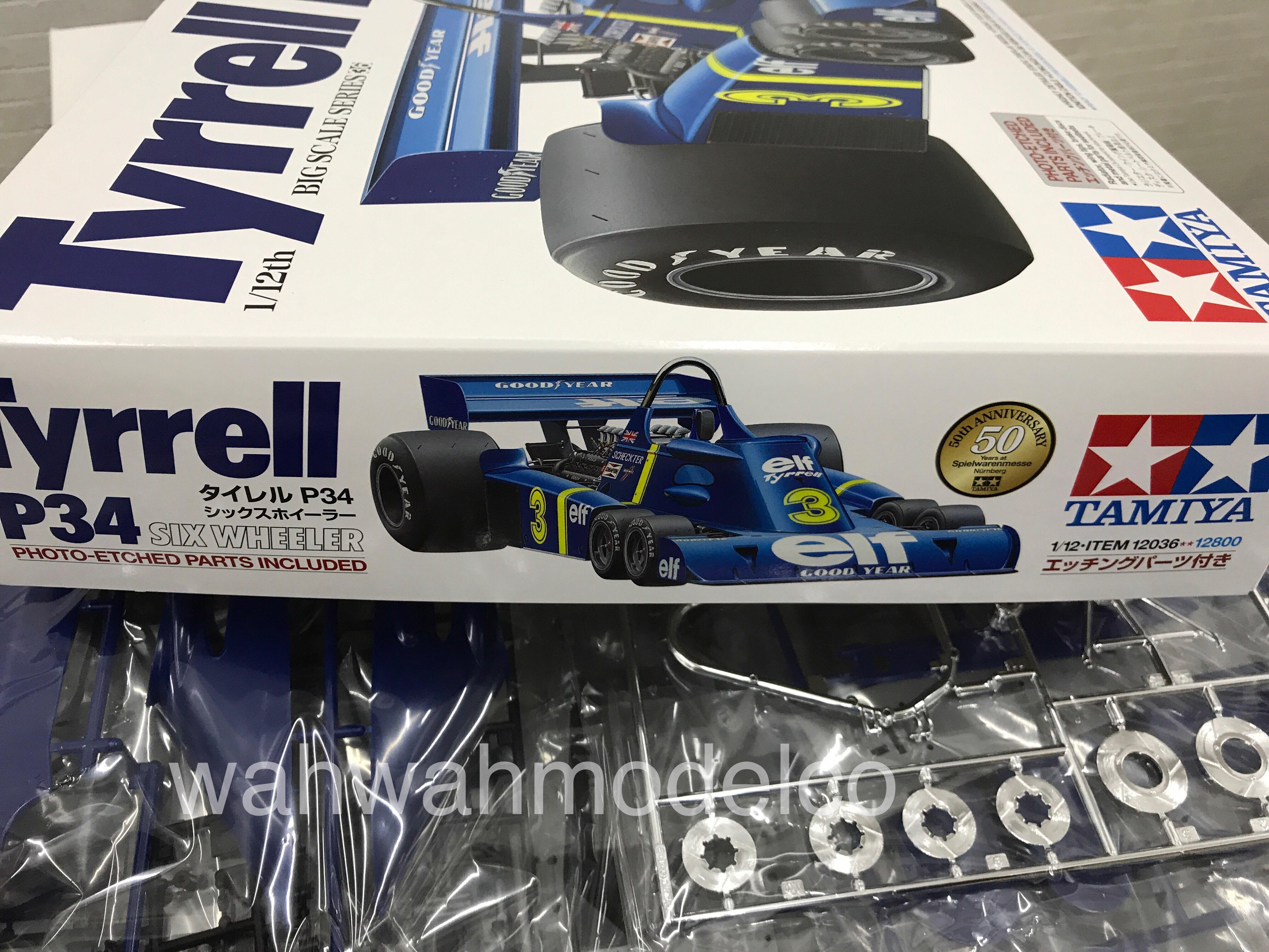 tamiya  tyrrell p  wheeler  photo etched parts   formula